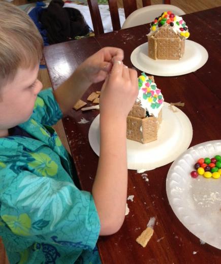 Brendon making house