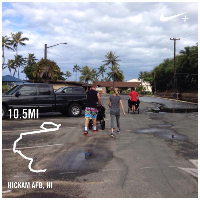 running Hickam