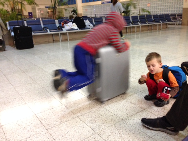 luggage rider