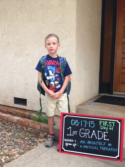 B first day