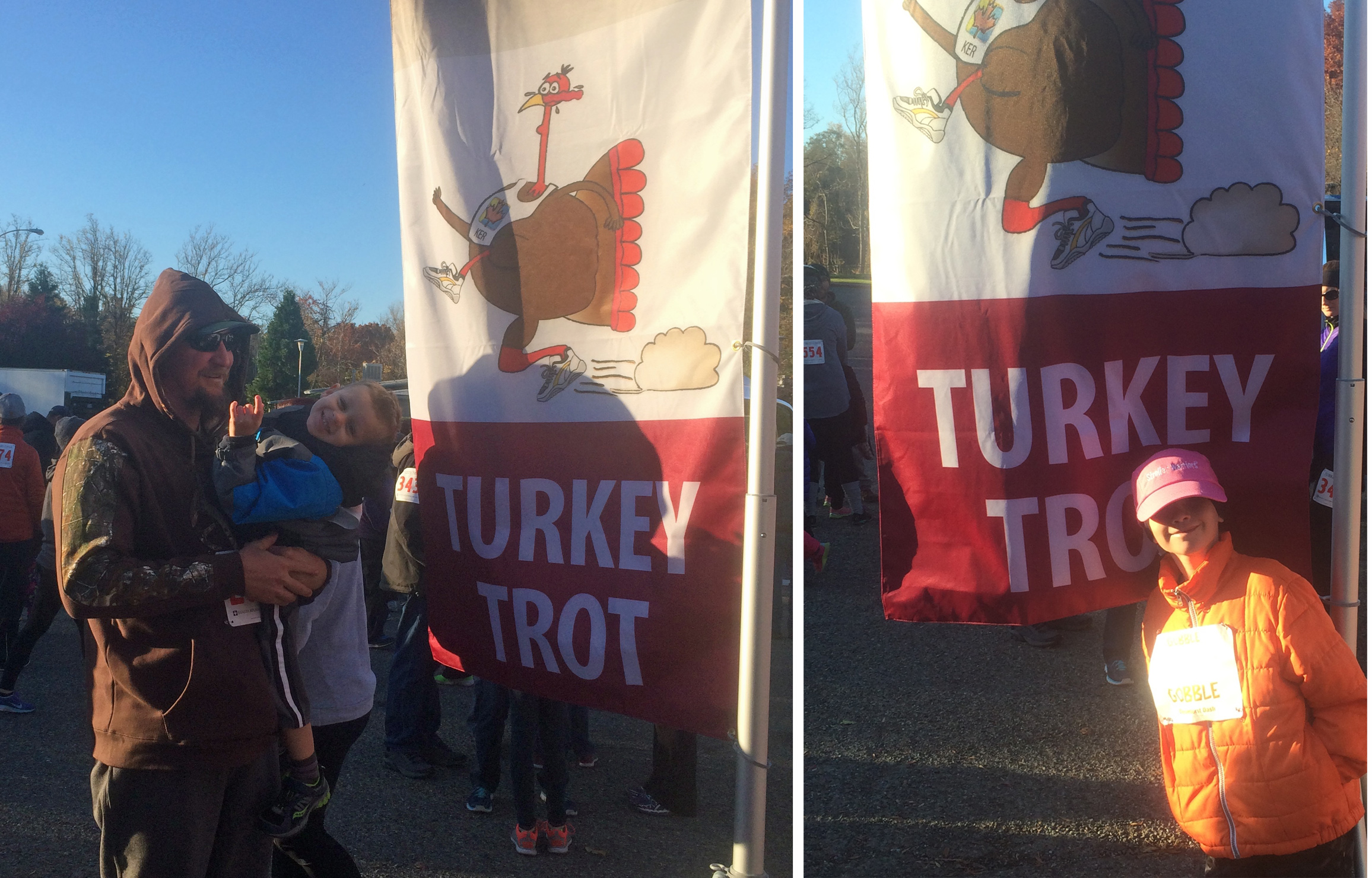 Turkey Trot Sign